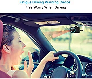 XINDA Fatigue Driving Warning Device (Upgraded Version 2) Anti Alarm Device Blinking Detection Facial Reading Beep …