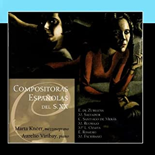 Compositoras Espanolas Del Siglo XX