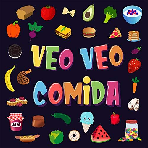 Veo Veo - Comida!: Un Juego Maravilloso de Buscar y Encontrar para Niños de 2 a 4 Años | ¿Puedes ver la Comida que Comienza con…? (Veo Veo Libros para Niños de 2-4 nº 3)