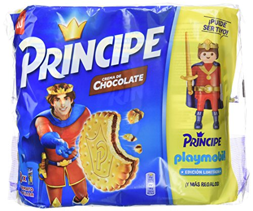Principe - Galleta Relleno De Chocolate 3 x 300 g - [pack de 2]