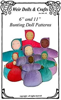Waldorf Bunting Doll Pattern for 6