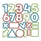 Tescoma 630926 Delicia Kids Tagliabiscotti Numeri, 21 Pezzi, Acciaio, Multicolore, Pz