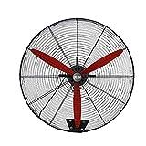 Ventilador de Pared de Alta Velocidad, Ventilador Oscilante para Exteriores, 3 Velocidades, Motor de Bobina de Cobre, Ventilador Eléctrico Industrial y Doméstico