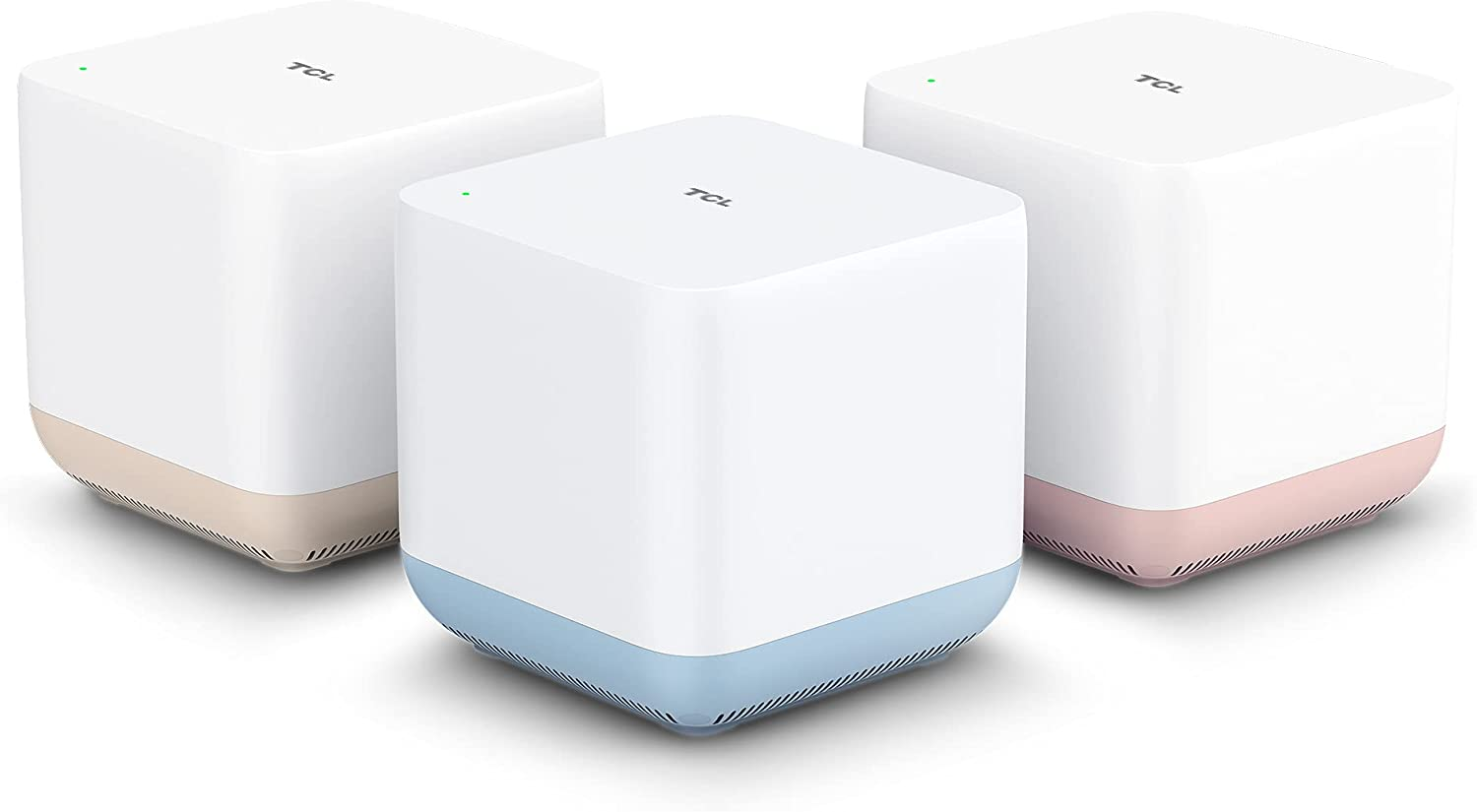 TCL AC1200 4500sq ft Dual-Band Mesh WiFi System (3-Pack) $89.99 Coupon