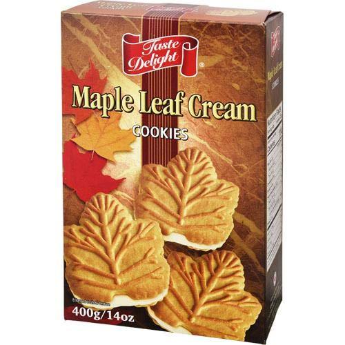 キタノ商事 メイプルリーフクッキー 400g [0000]