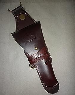 warreplica WWI M1912 US Cavalry Colt 45 Auto 1911 M1911 Pistol Leather Swivel Holster Reproduction