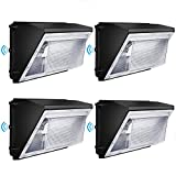 Led Wall Pack Light 120W 16200lm with photocell 840W HPS/HID Equivalent Dusk to Dawn Wall Pack led 5000K Commercial led Wall Pack Outdoor