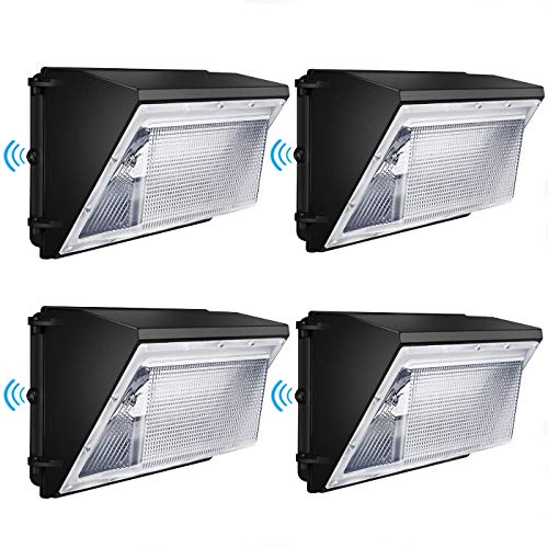 Led Wall Pack Light 120W 16200lm with photocell 840W HPS/HID Equivalent Dusk to Dawn Wall Pack led...