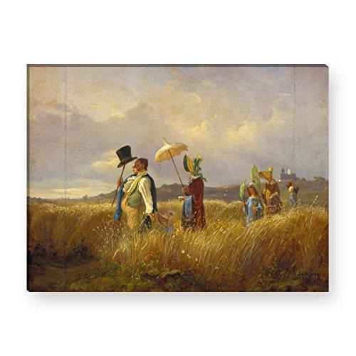 Wandkings Leinwandbilder von Carl Spitzweg - Wähle ein Motiv & Größe: