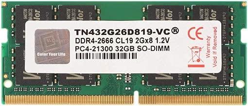 V-Color 32GB (1 x32GB) Upgrade for Apple 2019 iMac 27-inch w/Retina 5K Display DDR4 Non ECC 2666MHz (PC4-21300) CL19 1.2V SO-DIMM (TN432G26D819-VC)