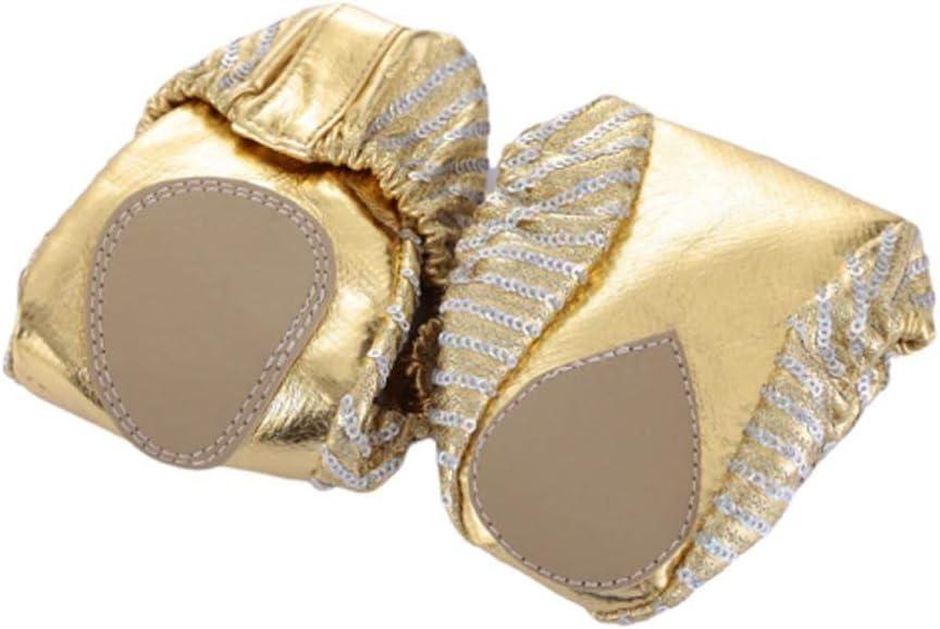 SUPVOX 1 Pair of Ballet Shoes Sequin Dancing Ballet Shoes for Adults Size L 38-39