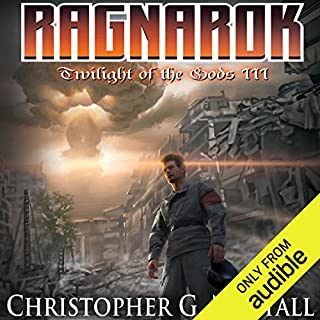 Ragnarok     Twilight of the Gods, Book 3              Written by:                                                                                                                                 Christopher G. Nuttall                               Narrated by:                                                                                                                                 Corey Gagne                      Length: 12 hrs and 58 mins     Not rated yet     Overall 0.0