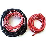 CENYAFAN 2 Metros de Silicon Wire 8 10 12 14 16 18 20 22 AWG Resistente al Calor...