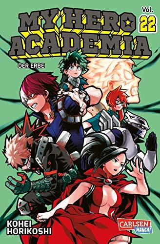 My Hero Academia 22: Die erste Auflage immer mit Glow-in-the-Dark-Effekt auf dem Cover! Yeah!