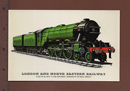Flying Scotsman 4472 train à vapeur Nouveau Qualité Art Carte de vœux par Barry prix