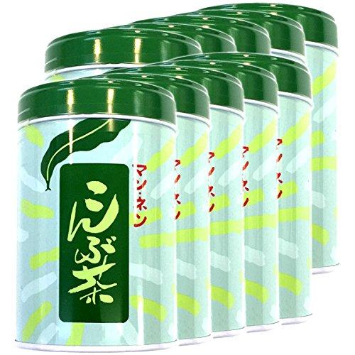 昆布茶 こんぶ茶 こぶ茶 缶入り 100g ×10袋セット