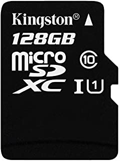 Professional Kingston 128GB Huawei Mate 20 RS Porsche Design MicroSDXC Card with Custom formatting and Standard SD Adapter! (Class 10, UHS-I)