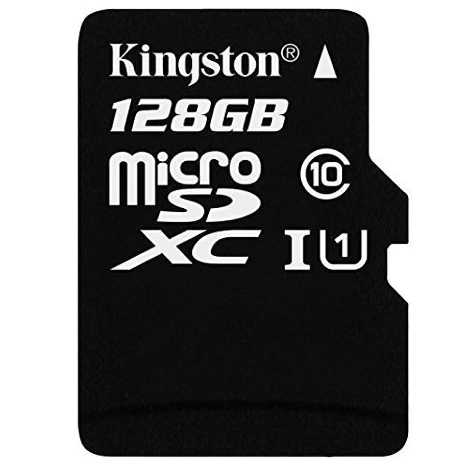 やりすぎレイビリープロフェッショナル キングストン128GB LG V350A MicroSDXCカード カスタムフォーマットと標準SDアダプター付き (クラス10、UHS-I)