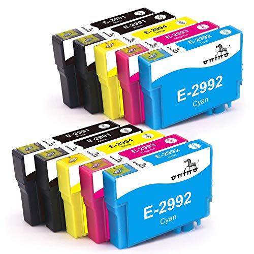 ONINO Cartucce 29XL Sostituzione per 29 Compatibile con Expression Home XP-245 XP-342 XP-345 XP-442 XP-432 XP-445 XP-247 XP-235 XP-332 XP-335 XP-435 (4 Nero, 2 Ciano, 2 Magenta, 2 Giallo)