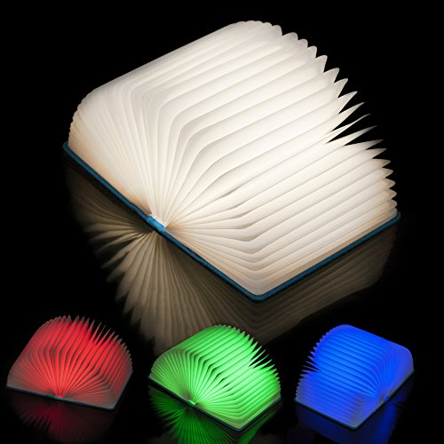 Book-Shaped Reading Lamp