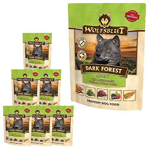 Wolfsblut Dark Forest Nassfutter Pouch 7x300 g