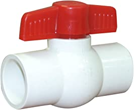 Valterra 700-10 PVC Ball Valve, White, 1