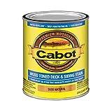 Cabot 140.0001437.007 Samuel INC Stain, 1 qt,...