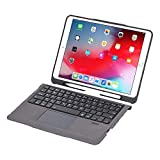 CONCEPT KART™ ipad Smart Touchpad Keyboard Case, Slim Leather Folio Smart Cover with Pencil Holder...