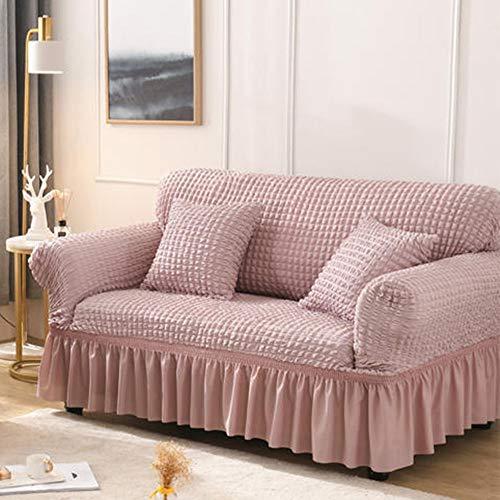 Couchbezug High Stretch Sofabezug Wasserabweisend Möbelschutz Easy Fit Elastischer Stoff Sofaschoner Stretchhussen für Sofas und Stühle