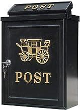 HKX Postdoos, Europese brievenbus Outdoor Villa Wandgemonteerde waterdichte brievenbus brievenbus 6YX83,Brievenbus