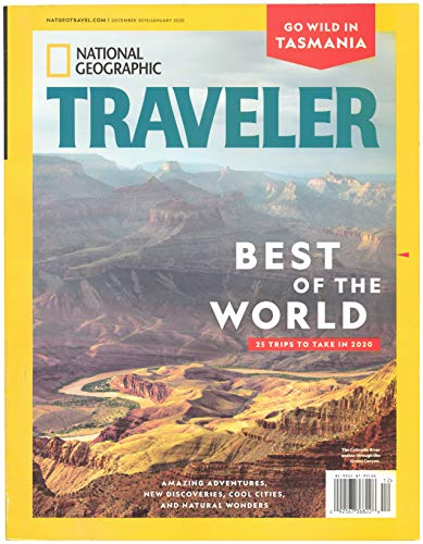 National Geographic traveler december 2019 January 2020