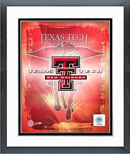 Texas Tech Red Raiders NCAA Framed 8x10 Photograph Texas Tech Team Logo