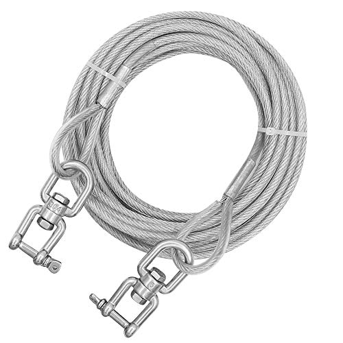 Outside Dog Chain with 360° Rotate Clasp