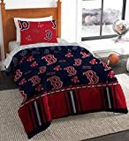 The Northwest Company MLB Boston Red Sox Twin Bed in a Bag Complete Bedding Set #486358546