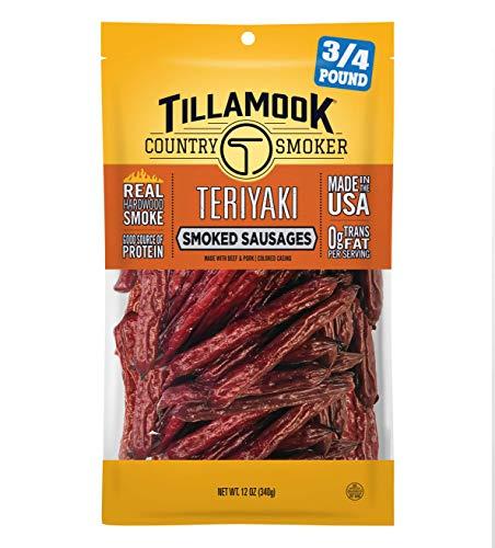 Tillamook Country Smoker Real Hardwood Smoked Sausages,...