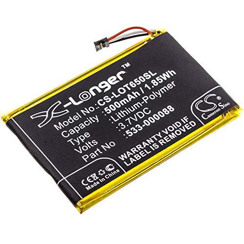 TECHTEK batería sustituye 1506, para 533-000088, para HB303450 Compatible con [LOGITECH] MX Master, Touchpad T650 FBA