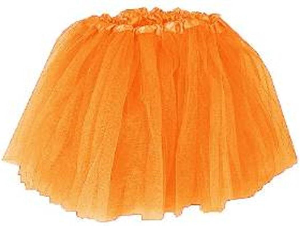 Girls Ballet Tutu Orange