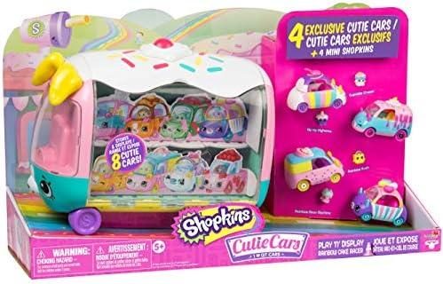 Shopkins Cutie Cars Play N Display Rainbow Cake Racer product image