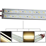 HVTKL 50 cm IP68 9W SMD 7020 36LED cálido blanco LED piscina rígida tira 12V HVTKL