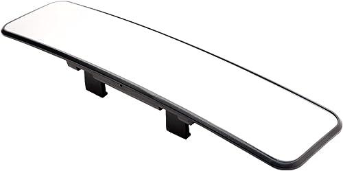 Car Mate Razo RG23 11.8 Black Frame Wide Angle Convex Rear View Mirror 6