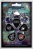 Avenged Sevenfold Plectrum pack - 5 guitar picks