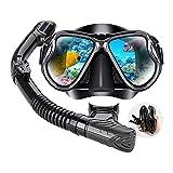 Conjunto de snorkel, con válvula de flotador conmutable en seco,...