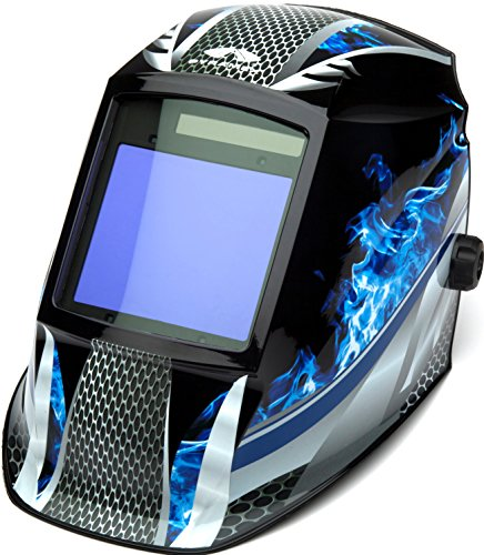 Pyramex Safety WHAM3030FM Leadhead Auto Darkening Welding Helmet, Fire Metal