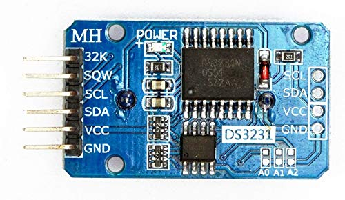 Real Time Clock DS3231-RTC-Modul mit EEPROM 2432 und Batterie CR2032