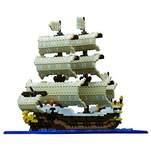 nanoblock Sailing Ship Building Set