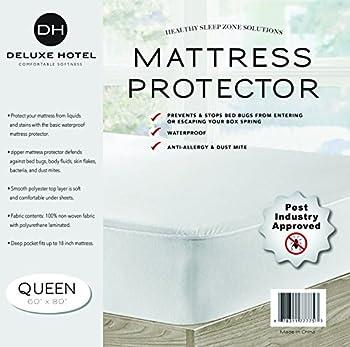 Ultimate Zippered Mattress Protector  Queen