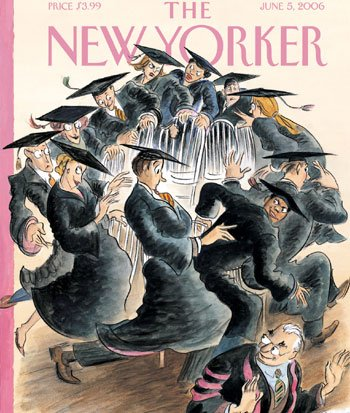 The New Yorker (June 5, 2006) cover art