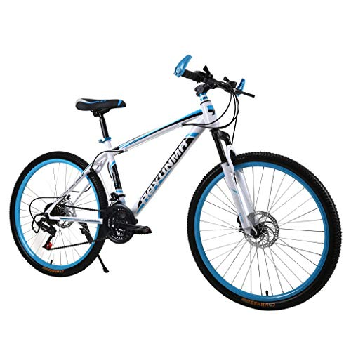SHUANGA 26 Zoll leichtes Mini Faltrad Kleines tragbares Fahrrad Erwachsener StudentMountainbike Single Speed V Bremse 26inch Aluminium Leicht Falträder Klappräder Männer Faltbar Fahrrad