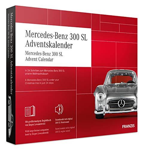 FRANZIS Mercedes-Benz 300 SL Adventskalender | In 24 Schritten zum Mercedes-Benz 300 SL unterm Weihnachtsbaum | Ab 14 Jahren