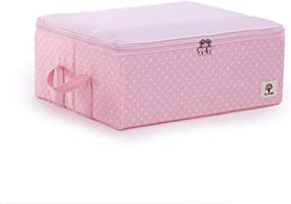 PPCP Storage Box Fabric Storage Wardrobe Multi-Color Optional Storage Box (Color : Pink)